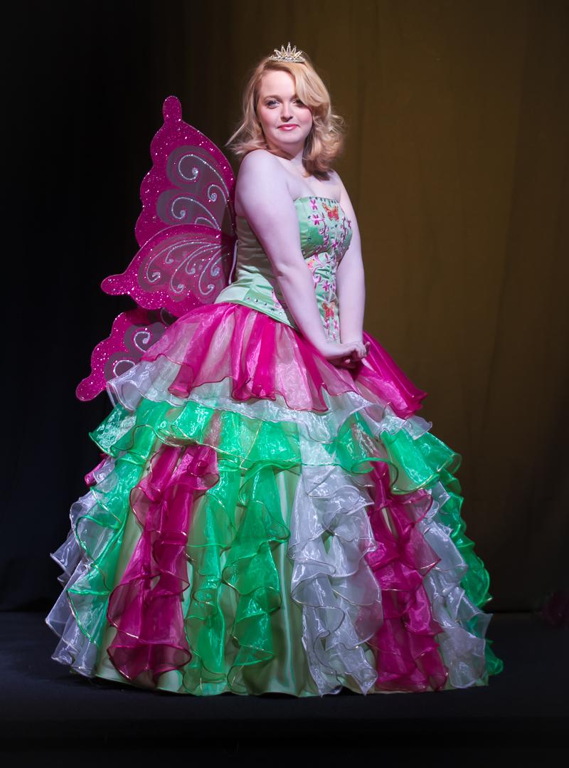 Butterfly Princess Pink